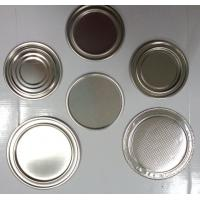 Cheap Air - proof Convex Surface 211# Metal Can Bottom 65 mm for Paper Tube Box for sale