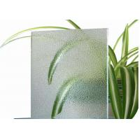 Cheap Room Decorative Tinted Glass , 4mm Thickness Coloured Patterned Glass For Balconies for sale