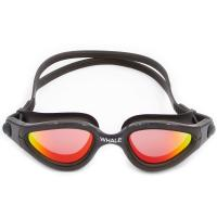 China Black Anti - Fog Silicone Swimming Goggles With Polarized Lens on sale