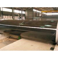 Cheap 3PE Three Layer Coated Steel Pipe , DIN30670 Coated Gas Pipe Underground for sale