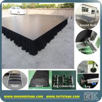 Mobile stage RK portable stage for indoor concert equipment adjustable big event stage decks Manufactures