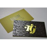 Foil Business card/ Customized business card/Plastic business card Manufactures
