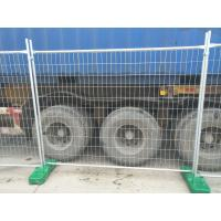 Cheap Temporary Fencing Panels hot dipped galvanized Before welding OD 32 pipes x 2.00mm 2100mm x 2400mm for sale