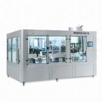 Cheap Little Bottle Juice Filling Machine with Fully Automatic Rinsing, More Compact in Structure for sale