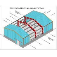 Ce Iso Certificated Pre Engineered Industry Steel Building