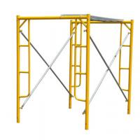 Cheap Temporary Frame Scaffolding System Tubular Steel For Building Construction for sale