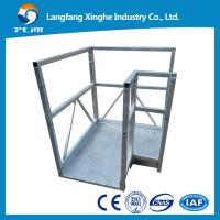 Cheap cable suspended woring platform,swing stage , scaffolding for window fitting for sale