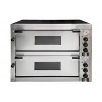 Cheap Multifunctional Commercial Pizza Oven 2 Decks Mechanical Timer Control for sale