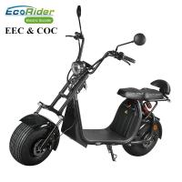Buy cheap 60V 12ah/20ah Two Wheels Electric Scooter EcoRider ES057 Citycoco 6-8 Hours Charging Time from wholesalers