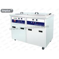 Cheap 130 Liter 1800w Dual Slot Stainless Steel Ultrasonic Cleaner Machine Dring Tank SUS316L for sale