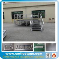 Cheap Aluminum used mobile stage with plywood platform stage deck for sale