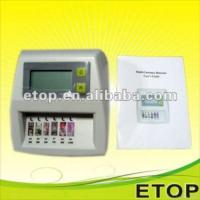 Cheap Mini Multi Currency Money Detector For Usd, Eur, Gbp, Jpy, Hkd, Cny for sale