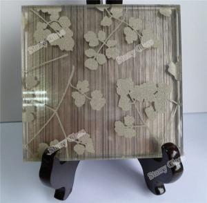 Cheap EVA Fabric Laminated Glass for sale