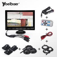 Cheap Night Vision Car Reversing Aid System 7 Inch TFT LCD Monitor With Touch Screen for sale