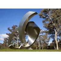 Garden Large Modern Abstract Stainless Steel Decorative Sculpture for sale