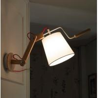 China wooden wall lamp on sale