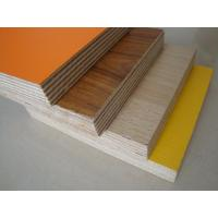 Cheap hot sale melamine plywood/ Furniture grade 18mm plywood with melamine finish/ Green color eucalyptus core PVC coated for sale