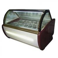 Cheap Fan Cooling Ice Cream Freezer Case -16~-22℃ With Digital Temp Controller and 2000mm Length for sale