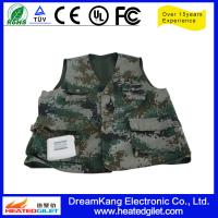 Cheap Rechargeable heated vest with Li-Battery for sale