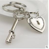 Cheap Promotional Creative 3d Engraved Metal Keychains For Wedding Return Gift for sale