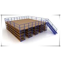 China Durable Heavy Duty Storage Racks / Wood Plate Mezzanine Chipboard Flooring For Spare Parts Storage on sale