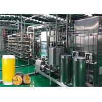 Cheap Sterilizing Passion Extracting 440V Fruit Processing Line for sale