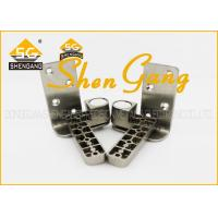 Cheap 90 Degree Stainless Steel Pivot Door Hinges / Heavy Duty Offset Hinges , 131*25mm(L*W) for sale
