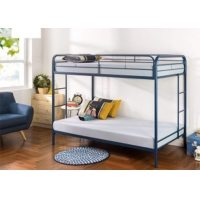 Buy cheap Bedroom Furniture Suite Set Dormitory ODM Metal Bunk Bed Frame 175 Pounds from wholesalers