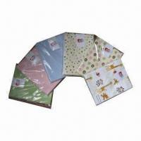 China 1-piece Baby Flannel Receiving Blankets, Measuring 30 x 30 Inches on sale