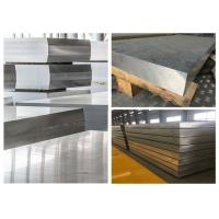 Cheap Hard Thick Flat Aluminum Sheet , Alloy 7075 Aluminum Sheet Material For Automobile for sale