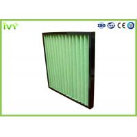 Cheap G4 Pleated Prefilter Replacement Air Filter Easy Installation With Plastic Frame for sale
