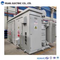 Cheap 3600 kva high voltage and low voltage box type substation for sale