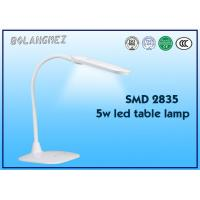 Cheap Double color temperature flexible led desk lamp with rechargeable battery for sale