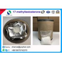 Cheap 17- Methyltestosterone Anabolic Muscle Growth Steroid Powder CAS 58-18-4 for sale