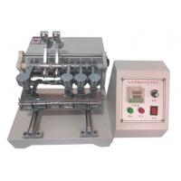 Cheap Motorized Friction Color Fastness Testing Machine For Textiles 9N Friction Load for sale
