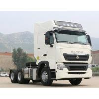 Cheap HOWO T7H Used Heavy Duty Trucks 6x4 Drive With A / C , 397kW Engine Power for sale