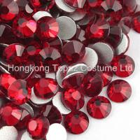 Cheap Non Hot Fix Crystal Stone Czech Rhinestone Glass Beads SS16 Siam for sale