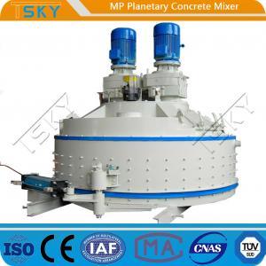 Cheap 4500L Feeding 110KW MP4500/3000 Planetary Concrete Mixer for sale