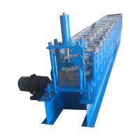 Cheap 18 Rows roof Gutter roll forming machine With 5.5kw Frequency Converter for sale