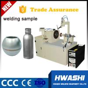 Cheap Panasonic Automatic MIG welder , Steel Rould Pot Automatic Welding Machine for sale