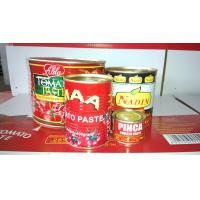 Cheap xinjiang hot sauce!! 400g canned tomato sauce/paste brix 28-30% tomato ketchup with best price for sale
