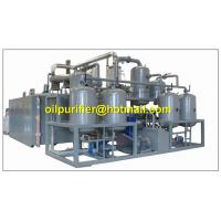 Cheap Black Engine Oil Distillation System, Motor Oil Recycling machine,base oil production for sale