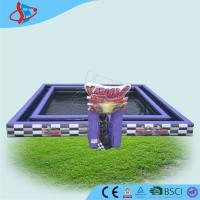 Cheap Double Wall Temperature Field , Inflatable Sports Game , Inflatable Playground for sale