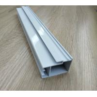 Cheap High Hardness Powder Coated Aluminium Extrusions For Doors / Windows Corrosion Resistance for sale