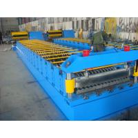 Cheap Galvanized Metal Roof Panel Roll Forming Machine , Glazed Tile Roll Forming Machine  for sale