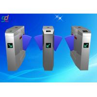 Cheap Card Reader Flap Barrier Gate Automatic Turnstiles Retractable Turnstyle Gates for sale