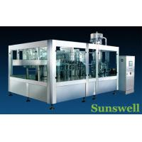 Cheap Stainless Steel Tea Filling Machine , Semi-Automatic Liquid Filling Line for sale