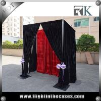 China Easy installation curtain stand backdrop pipe and drape for wedding on sale
