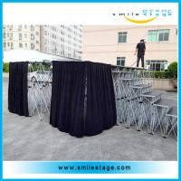Cheap Aluminum Wooden Mobile Catwalk Stage for Designs of Stage Decorations for sale