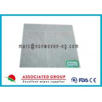 Aperture spunlace nonwoven fabric polyester mesh with lint free